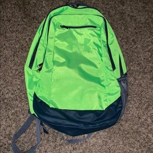 Green Under Armour Backpack